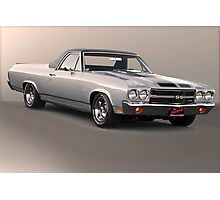1971 Chevrolet El Camino SS 'Cowl Induction' Photographic Print