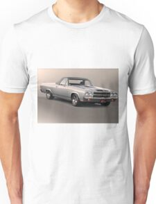 1971 Chevrolet El Camino SS 'Cowl Induction' Unisex T-Shirt