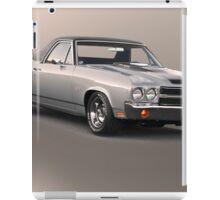 1971 Chevrolet El Camino SS 'Cowl Induction' iPad Case/Skin