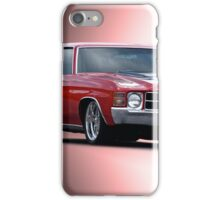1971 Chevelle SS454  iPhone Case/Skin