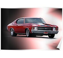 1971 Chevelle SS454  Poster