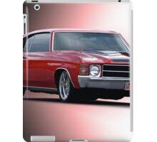 1971 Chevelle SS454  iPad Case/Skin