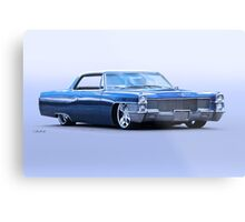 1965 Cadillac Custom Coupe DeVille Metal Print