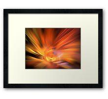 Warm Bow Framed Print