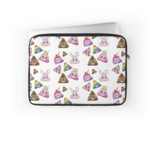 Silly Whacky Fun Poop Emoji Land Collection Laptop Sleeve
