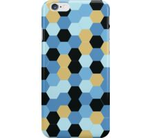 Contrasting Abstract Hexagon Pattern iPhone Case/Skin
