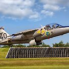 SAAB 105/SK60E 60140/SE-DXG taking off by Colin Smedley