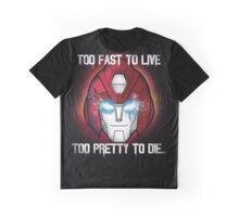 Hot Rod - Too Fast To Live Graphic T-Shirt