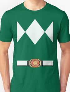 MMPR Green Ranger Uniform Unisex T-Shirt
