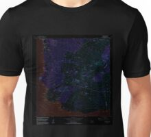 USGS TOPO Map Hawaii HI Makena 349565 1983 24000 Inverted Unisex T-Shirt