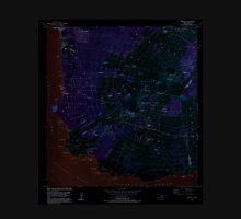 USGS TOPO Map Hawaii HI Makena 349565 1983 24000 Inverted Unisex T-Shirt