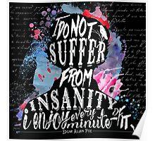 E.A.Poe - Insanity Poster