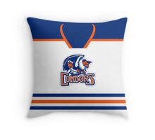 Bakersfield Condors Home Jersey Throw Pillow