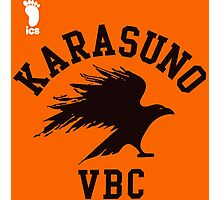 KARASUNO Voleyball Club Photographic Print