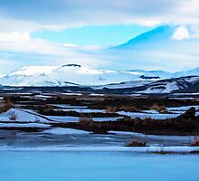 Hekla Volcano Iceland by Chris Thaxter