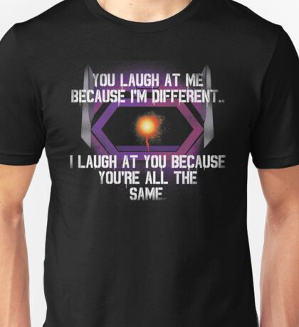 Shockwave (With Quote) Unisex T-Shirt