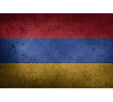 Armenia Flag Grunge Photographic Print