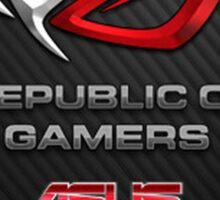 Republic of Gamers Sticker