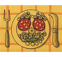 Countryside appetizer placemat Photographic Print