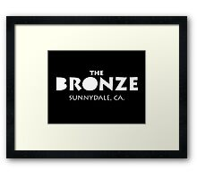 The Bronze – Buffy the Vampire Slayer, Sunnydale Framed Print