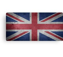 United Kingdom Flag Grunge Canvas Print