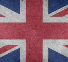 United Kingdom Flag Grunge Sticker