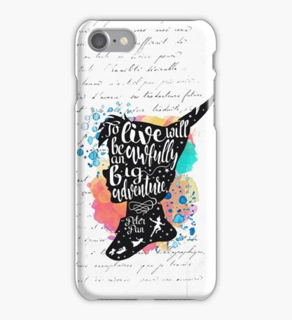 Peter Pan - To Live iPhone Case/Skin