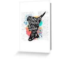Peter Pan - To Live Greeting Card