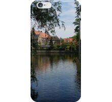 A Glimpse Through the Trees - Bruges, Belgium iPhone Case/Skin