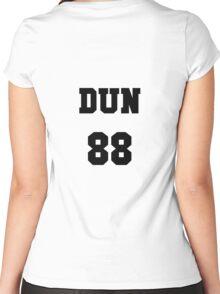 josh dun team shirt Women's Fitted Scoop T-Shirt
