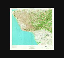 USGS TOPO Map Puerto Rico PR Rincon 362234 1955 20000 Unisex T-Shirt