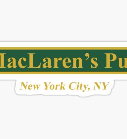 MacLaren's Pub, New York – How I Met Your Mother Sticker