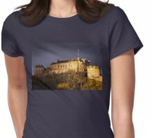 Edinburgh Castle Womens Fitted T-Shirt