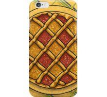 Precision square grid tart iPhone Case/Skin