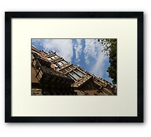 Barcelona's Marvelous Architecture - Avenue Diagonal Facade Framed Print