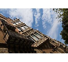 Barcelona's Marvelous Architecture - Avenue Diagonal Facade Photographic Print