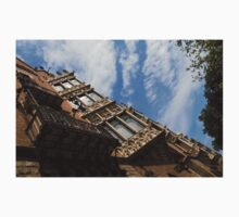 Barcelona's Marvelous Architecture - Avenue Diagonal Facade One Piece - Short Sleeve