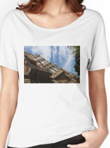 Barcelona's Marvelous Architecture - Avenue Diagonal Facade Women's Relaxed Fit T-Shirt