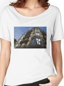 Barcelona's Marvelous Architecture - Passeig de Gracia Facade Women's Relaxed Fit T-Shirt