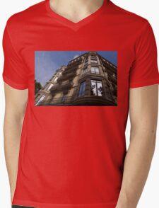 Barcelona's Marvelous Architecture - Passeig de Gracia Facade Mens V-Neck T-Shirt
