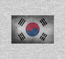 South Korea Flag Grunge Unisex T-Shirt