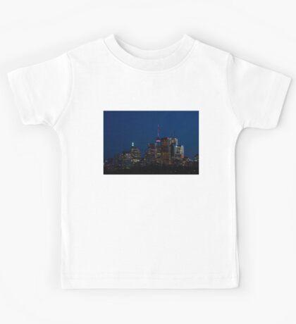 Indigo Sky and Toronto Skyline Kids Tee