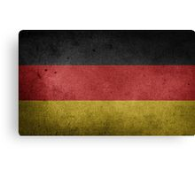 Germany Flag Grunge Canvas Print