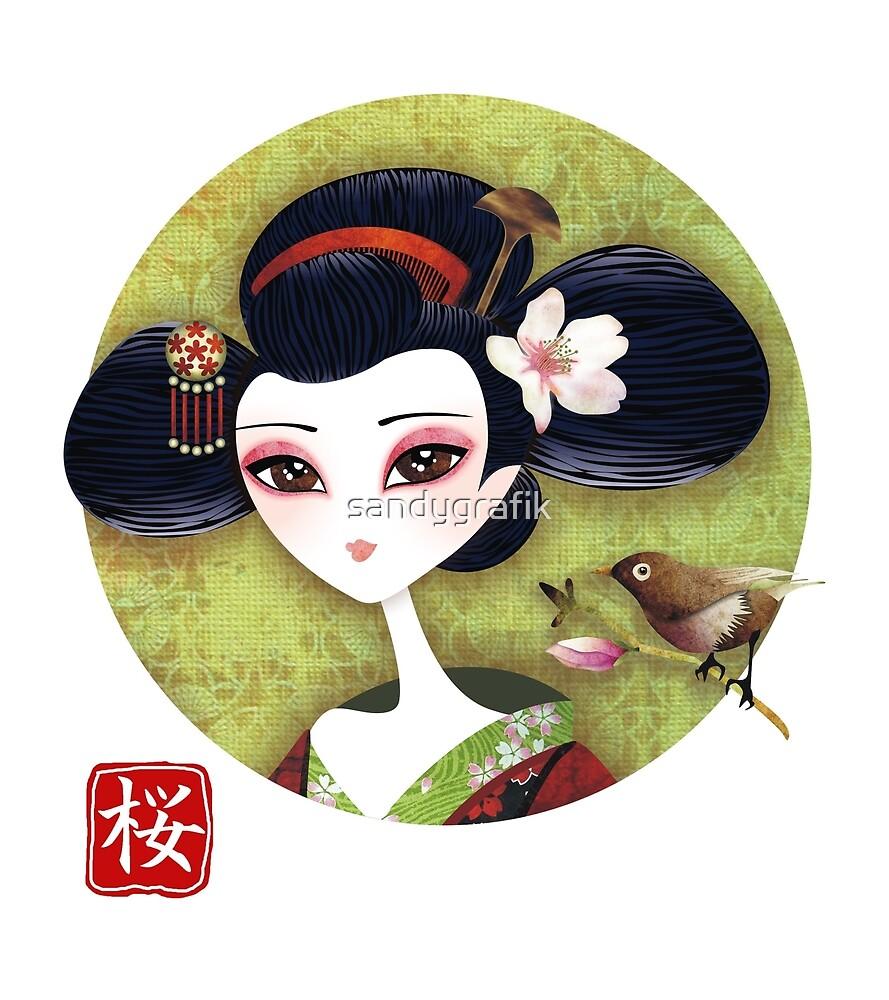Sakura Girl Reloaded by sandygrafik