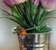 Spring in a Bucket Sticker