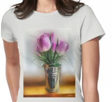 Spring in a Bucket Womens Fitted T-Shirt