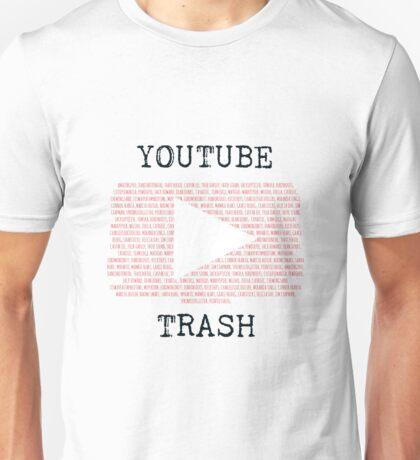 Youtube Trash Unisex T-Shirt
