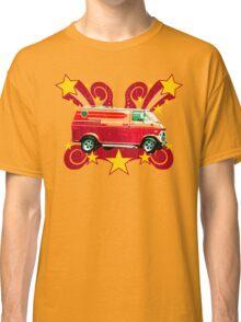 Retro 70s Van (vintage distressed) Classic T-Shirt