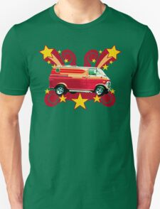 Retro 70s Van (vintage distressed) Unisex T-Shirt