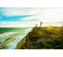 Awesome landscape of seashore Photographic Print